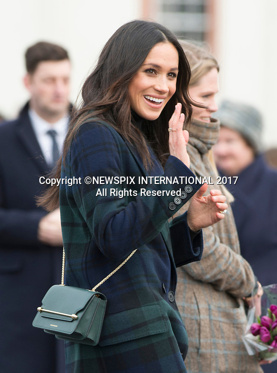 Meghan Markle & Prince Harry Visit Edinburgh, Scotland