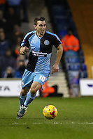 Michael Harriman of Wycombe Wanderers during the Sky Bet League 2 match between Luton Town and Wycombe Wanderers at Kenilworth Road, Luton, England on 26 December 2015. Photo by David Horn.