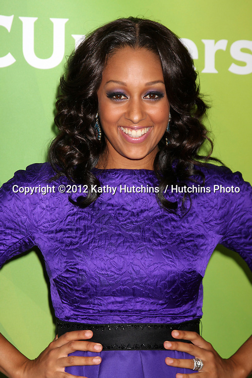 LOS ANGELES - JUL 25:  Tia  Mowry arrives at the NBC Universal Cable TCA Summer 2012 Press Tour at Beverly Hilton Hotel on July 25, 2012 in Beverly Hills, CA