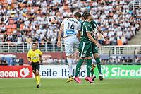São Paulo (SP), 29/02/2020 - Santos-Palmeiras - Luan Peres, do Santos durante partida contra o Palmeiras, válida pela 08ª rodada do Campeonato Paulista, no estádio do Pacaembú, em São Paulo (SP), neste sábado (29).