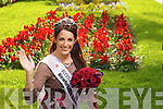 Newly crowned Rose of Tralee Nicola McEvoy pictured in Tralee town park on Wednesday.