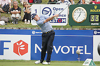 Peter Lawrie tees off on the 1st to start his 3rd round of the 2008 Open de France Alstom at Golf National, Paris, France June 28th 2008 (Photo by Eoin Clarke/GOLFFILE)