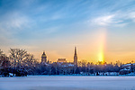 MC 1.2.18 Winter Sunrise.JPG by Matt Cashore/University of Notre Dame