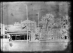 Frederick Stone negative. Pin Shop, old, East Main Street (Waterbury furniture Co. and Emporium) 1892.