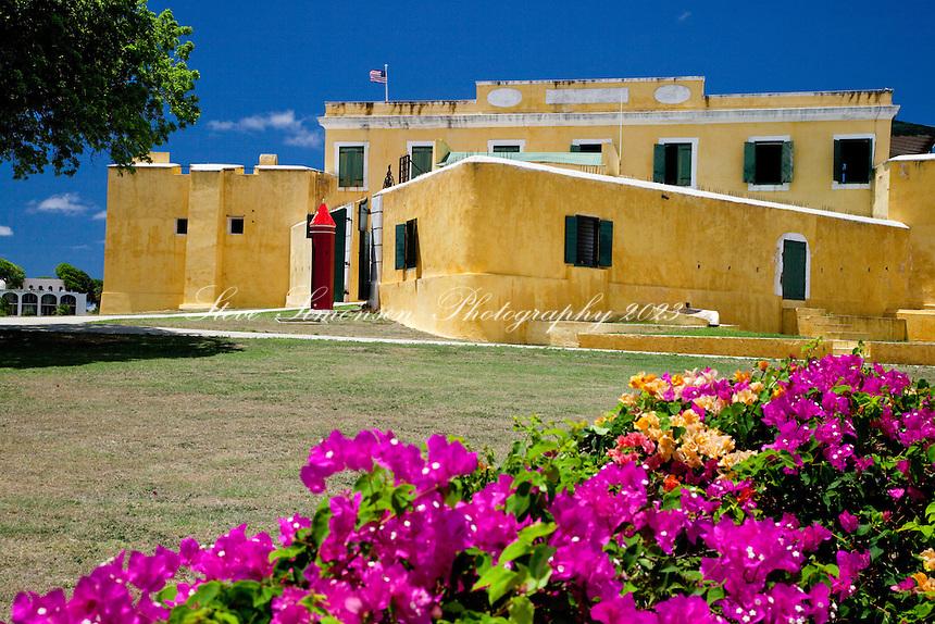 Fort Christiansvaern.Christiansted, St Croix.US Virgin Islands