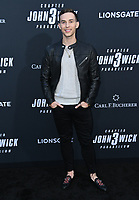 "15 May 2019 - Hollywood, California - Adam Rippon. ""John Wick: Chapter 3 - Parabellum"" Special Screening Los Angeles held at the TCL Chinese Theatre.     <br /> CAP/ADM/BT<br /> ©BT/ADM/Capital Pictures"