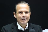 SÃO PAULO, SP, 12.07.2019 - POLITICA-SP - João Doria, Governador de São Paulo, apresenta a próxima etapa do projeto Novo Rio Pinheiros para desassoreamento e limpeza do curso d'água, e medidas de reforço para o policiamento na Capital, nesta sexta-feira, 12. ( Foto Charles Sholl/Brazil Photo Press/Folhapres)