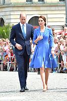 Prince William and Princess Kate at the Brandenburg Gate