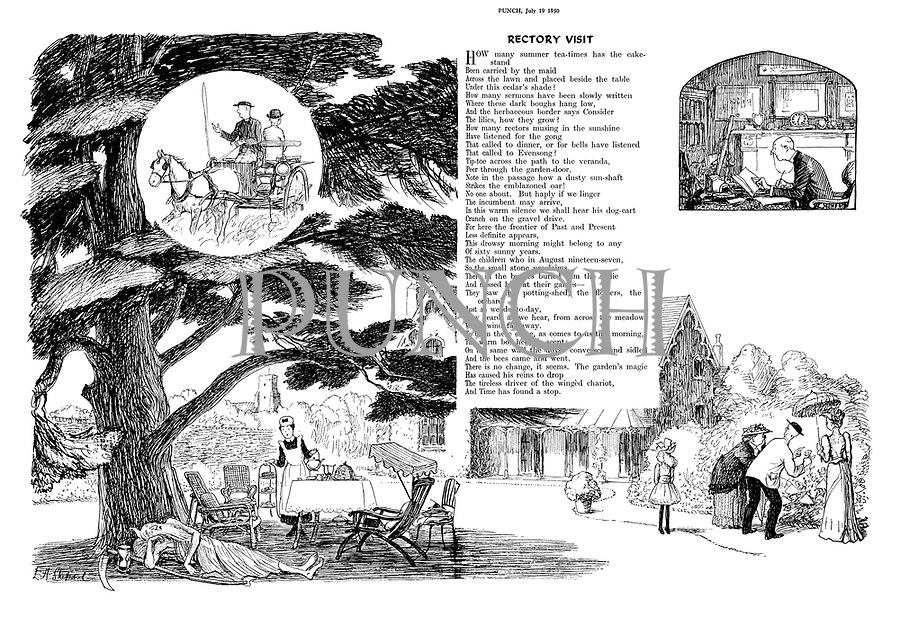 """Rectory Visit"" (illustrated poem)"
