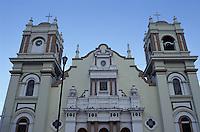 facade of the cathedral in San Pedro Sula Honduras