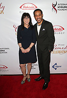 LOS ANGELES, CA - NOVEMBER 3: Susi Novis Durie, Dale Godboldo, at The International Myeloma Foundation's 12th Annual Comedy Celebration at The Wilshire Ebell Theatre in Los Angeles, California on November 3, 2018.   <br /> CAP/MPI/FS<br /> &copy;FS/MPI/Capital Pictures