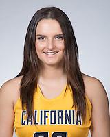 BERKELEY, CA - September 28, 2016: Sara Anastasieska Cal Basketball W Portraits