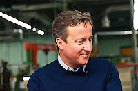 Wednesday 19 February 2014<br /> Pictured: Prime Minister David Cameron<br /> Re: Prime Minister David Cameron Visits Flood victims at the Duke of Edinburgh public house in Newgale, Pembrokeshire, Wales