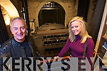 Joe Murphy and Sharon Farrelly at Saint Johns Theatre Listowel.