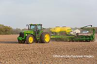 63801-09916 Farmer planting corn Marion Co. IL