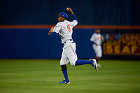 St. Lucie Mets right fielder Hansel Moreno (9) during a Florida State League game against the Florida Fire Frogs on April 12, 2019 at First Data Field in St. Lucie, Florida.  Florida defeated St. Lucie 10-7.  (Mike Janes/Four Seam Images)