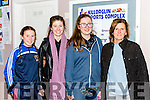 Martha, rebecca , Sarah and Breda Fitzgerald enjoying  Keanes Super Valu Killorglin game against Kestrels during their National League clash in Killorglin on Saturday night