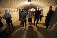 dOCUMENTA (13) in Kassel, Germany..Bunker im Weinberg..Aman Mojadidi.