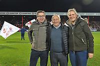 KV KORTRIJK - CERCLE BRUGGE :<br /> Beelden voor de wedstrijd en aan de aftrap met sponsors en Jules Verriest (M)<br /> <br /> Foto VDB / Bart Vandenbroucke