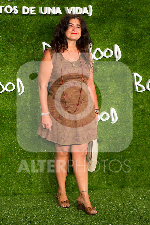 "Lucía Echevarria attend the photocall of the Premiere of the movie ""Boyhood"" at the Cineteca in Madrid, Spain. September 09, 2014. (ALTERPHOTOS/Carlos Dafonte)"
