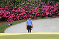 Patrick Cantley (USA) on the 13th green during the 1st round at the The Masters , Augusta National, Augusta, Georgia, USA. 11/04/2019.<br /> Picture Fran Caffrey / Golffile.ie<br /> <br /> All photo usage must carry mandatory copyright credit (© Golffile | Fran Caffrey)