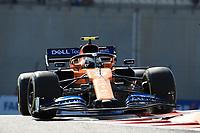29th November 2019; Yas Marina Circuit, Abu Dhabi, United Arab Emirates; Formula 1 Abu Dhabi Grand Prix, practice day; McLaren, Lando Norris - Editorial Use