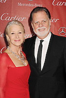 PALM SPRINGS, CA - JANUARY 05: Taylor Hackford and Dame Helen Mirren arrive at the 24th Annual Palm Springs International Film Festival - Awards Gala at the Palm Springs Convention Center on January 5, 2013 in Palm Springs, California..PAP01013JP78.Palm Springs Film Festival Awards GalaPAP01013JP78.Palm Springs Film Festival Awards Gala