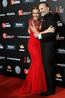Singers Monica Naranjo (l) and Miguel Bose during Barcelona 5th AIDS Ceremony. November 24,2014.(ALTERPHOTOS/Acero) /NortePhoto<br />