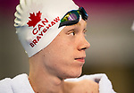 Lima, Peru -  28/August/2019 -  Jacob Brayshaw competes in the men's 50m breast stroke SB2 at the Parapan Am Games in Lima, Peru. Photo: Dave Holland/Canadian Paralympic Committee.