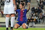 Spanish Women's Football League Iberdrola 2017/18 - Game: 9.<br /> FC Barcelona vs Madrid CFF: 7-0.<br /> Natasha Andonova.
