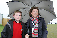 Adam and Lizzy McCormack at the 3 Irish Open Golf in Baltray...Photo NEWSFILE/Jenny Matthews.(Photo credit should read Jenny Matthews/NEWSFILE)....This Picture has been sent you under the condtions enclosed by:.Newsfile Ltd..The Studio,.Millmount Abbey,.Drogheda,.Co Meath..Ireland..Tel: +353(0)41-9871240.Fax: +353(0)41-9871260.GSM: +353(0)86-2500958.email: pictures@newsfile.ie.www.newsfile.ie.FTP: 193.120.102.198.