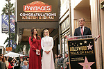 Idina Menzel, Kristen Bell -Double Stars 054 Eric Garcetti ,  Kristen Bell And Idina Menzel  Honored With Stars On The Hollywood Walk Of Fame on November 19, 2019 in Hollywood, California