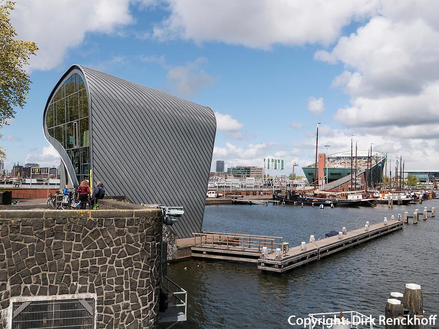 ARCAM architectuurcentrum + Kindermuseum NEMO Science Center, Amsterdam, Provinz Nordholland, Niederlande<br /> ARCAM architectuurcentrum + children's museum NEMO science center, Amsterdam, Province North Holland, Netherlands