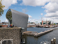 ARCAM architectuurcentrum + Kindermuseum NEMO Science Center, Amsterdam, Provinz Nordholland, Niederlande<br /> ARCAM architectuurcentrum + children's museum NEMO science center, Amsterdam, Province North Holland, Netherlands