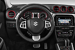 Car pictures of steering wheel view of a 2018 Suzuki Vitara GLX  S 5 Door SUV
