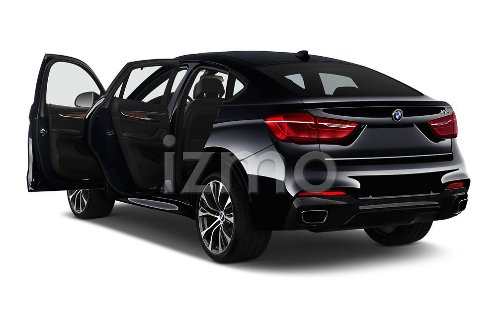 Car images close up view of a 2019 BMW X6 35i 5 Door SUV doors
