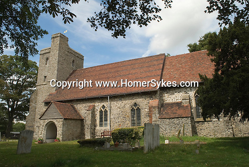 St James church  Cooling Kent. Isle of Grain. UK
