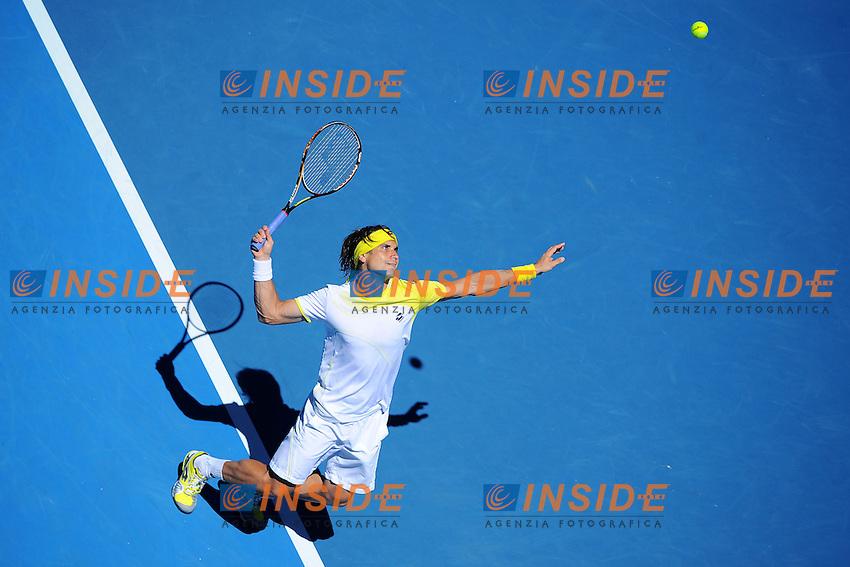 David Ferrer (ESP) .Melbourne 22/1/2013.Tennis Australian Open.Foto Virginie Bouyer / Sportmag / Panoramic / Insidefoto.ITALY ONLY