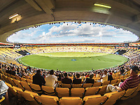 General view during the 3rd ODI cricket match between the Blackcaps & England at Westpac stadium, Wellington. 3rd March 2018. © Copyright Photo: Grant Down / www.photosport.nz
