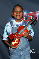 "LOS ANGELES - AUG 20:  Tyler Butler-Figueroa at the ""America's Got Talent"" Season 14 Live Show Red Carpet at the Dolby Theater on August 20, 2019 in Los Angeles, CA"