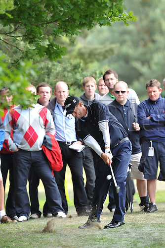 27.05.2011. Wentworth, Surrey, England. Anders Hansen (DEN) in action during Round 2 of the BMW PGA Golf Championship from Wentworth.