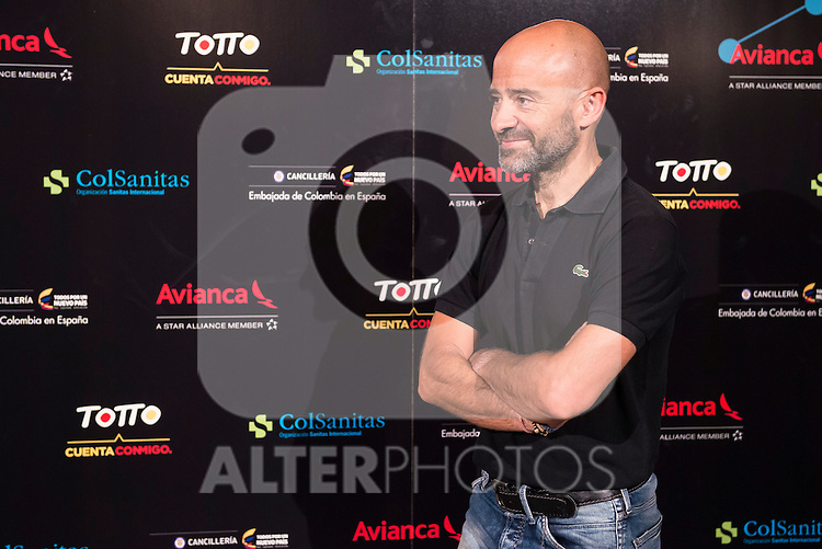 Antonio Lobato attends the photocall before the concert of colombian singer Juanes in Royal Theater in Madrid, Spain. July 23, 2015.<br />  (ALTERPHOTOS/BorjaB.Hojas)