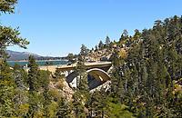 Big Bear Lake in Big Bear California at Hwy 18