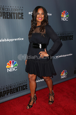"""Universal City, CA - DECEMBER 09: Laila Ali, At Q&A For NBC's """" The New Celebrity Apprentice"""" At NBC Universal Lot, California on December 09, 2016. Credit: Faye Sadou/MediaPunch"""