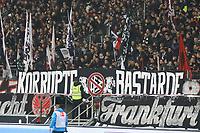 Eintracht Fans mit DFB Kritik - 03.11.2017: Eintracht Frankfurt vs. SV Werder Bremen, Commerzbank Arena