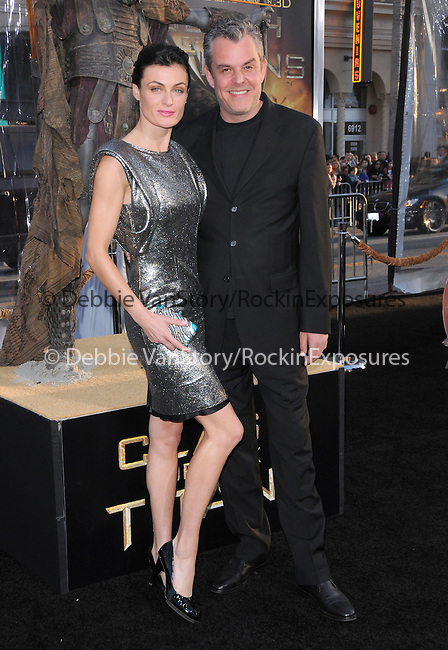 Danny Huston & Lyne Renee at The Warner Bros. Pictures L.A. Premiere of Clash of The Titans held at The Grauman's Chinese Theatre in Hollywood, California on March 31,2010                                                                   Copyright 2010  DVS / RockinExposures