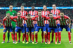 Atletico de Madrid's team photo with Jan Oblak, Lucas Hernandez, Thomas Partey, Filipe Luis, Diego Godin, Antoine Griezmann, Juanfran Torres, Angel Correa, Saul Niguez, Koke Resurreccion and Yannick Ferreira Carrasco during Champions League 2017/2018, Group C, match 2. September 27,2017. (ALTERPHOTOS/Acero)