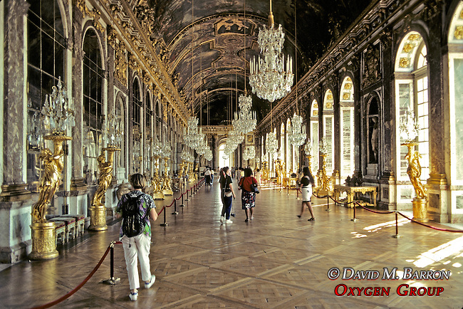 Inside Hall At Versailles