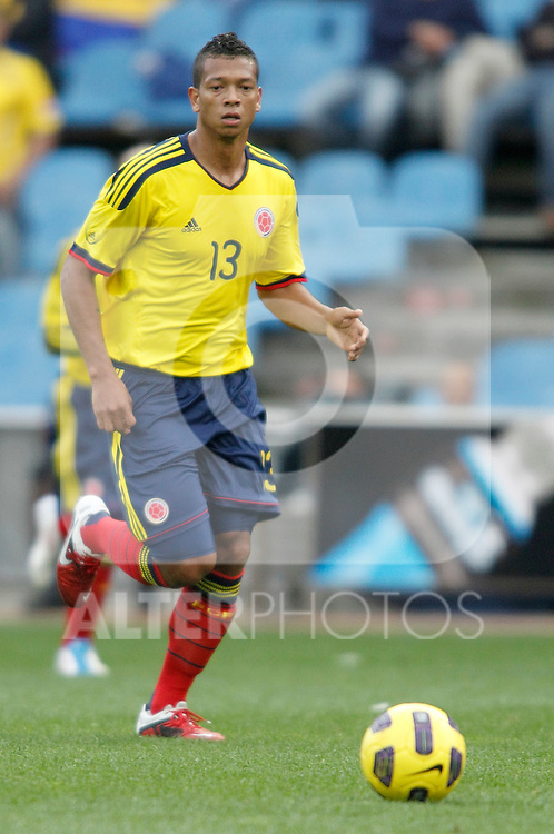 Colombia's national team Fredy Guarin during international friendly. March 26, 2011. (ALTERPHOTOS/Alvaro Hernandez)