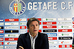 Getafe's General Manager Toni Munoz.February 25, 2016. (ALTERPHOTOS/Acero)